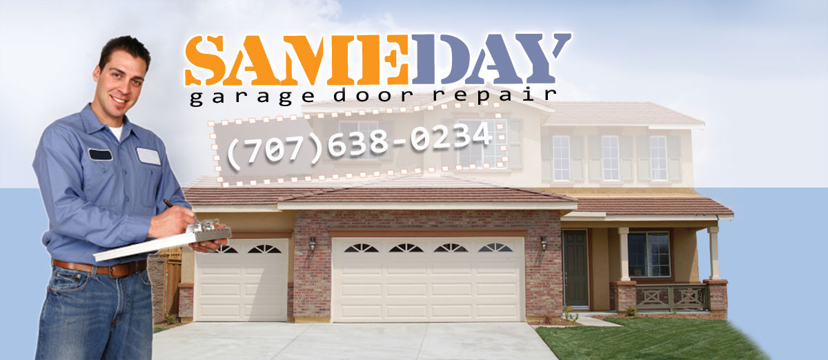 Garage Door Repair Vallejo Ca Same Day Garage Door Repair